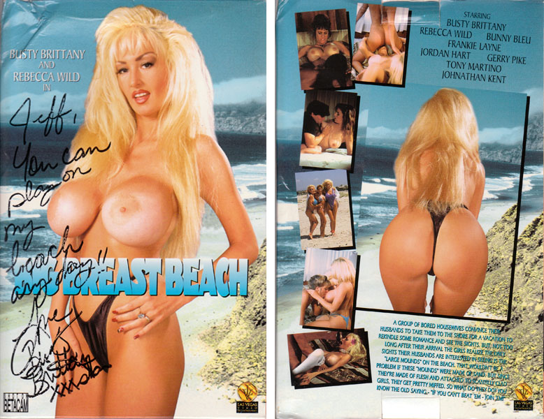Big Breast Beach – Busty Brittany, Rebecca Wild