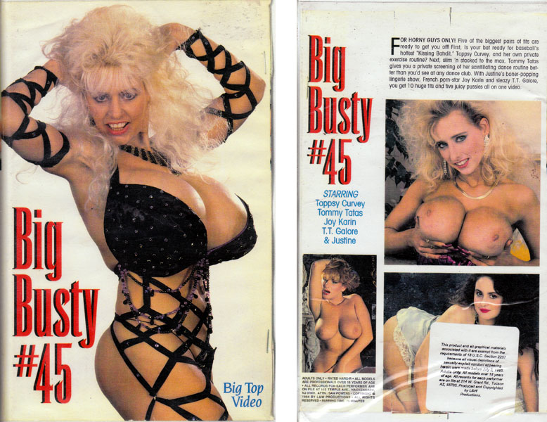 Big Busty #45 _ Toppsy Curvey, Tommy Tatas (Wendy Whoppers)