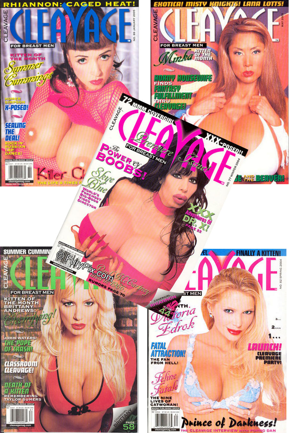 Cleavage - The Entire 5 Issue Run