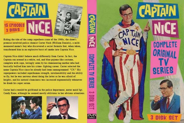 Captain Nice - 1967 TV Show